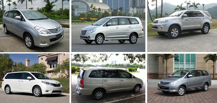 Dịch vụ cho thuê xe 7 chỗ tại Quảng Ngãi