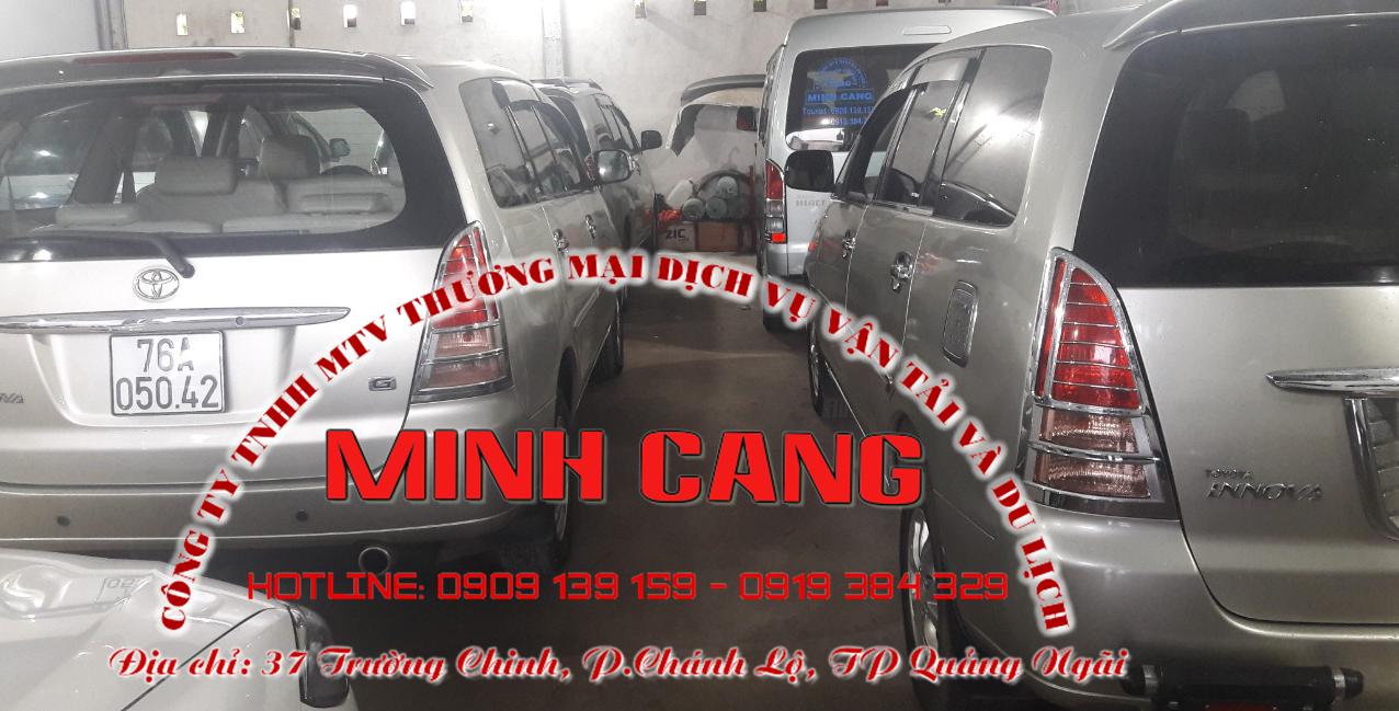Xe đưa đón từ sân bay Chu Lai về Quảng Ngãi - Quảng Ngãi đi Chu Lai